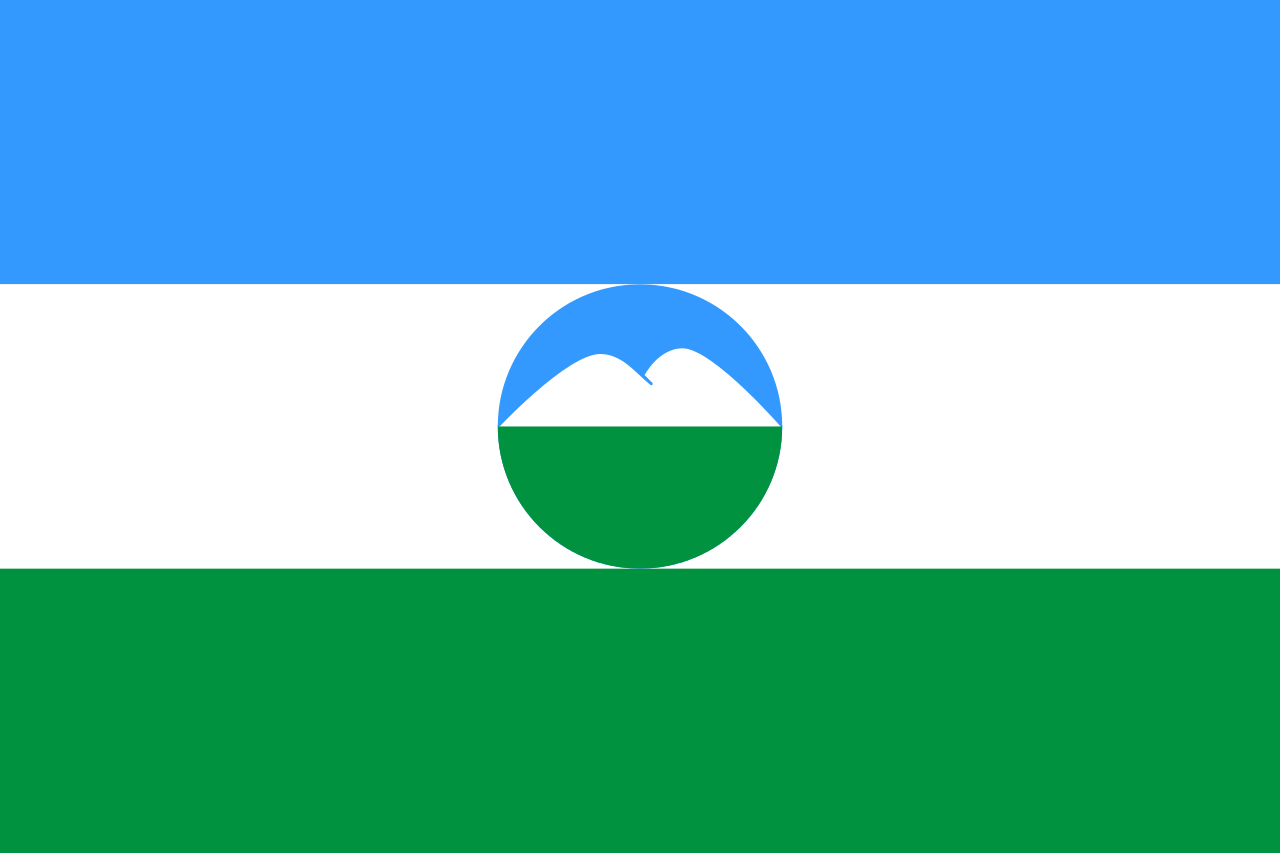 Kabardino Balkarya Bayragi