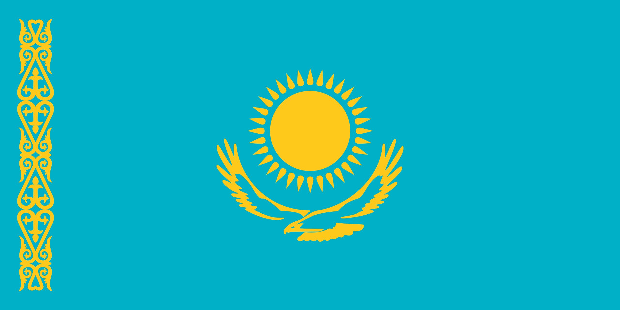 Kazakistan Bayragi