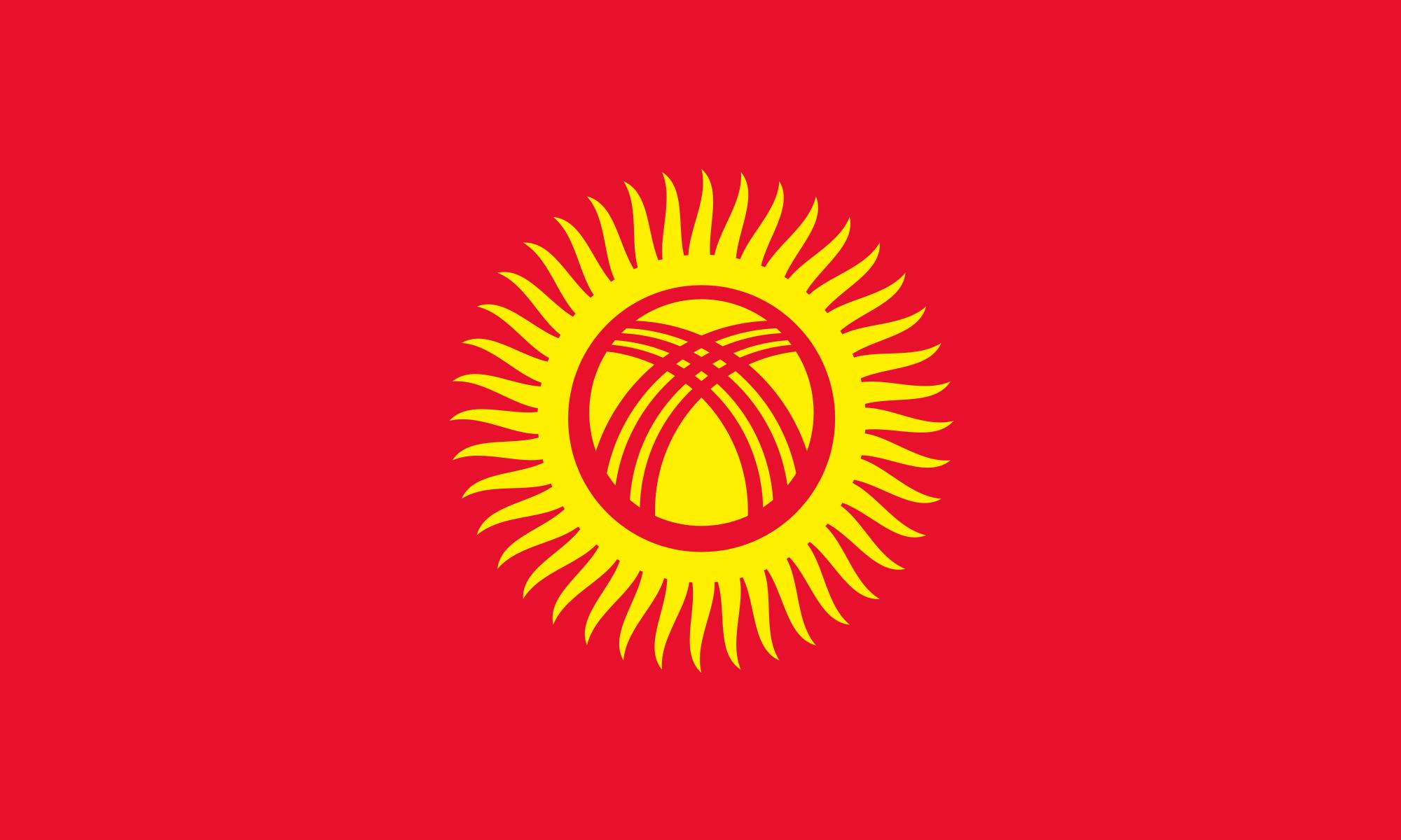 Kirgizistan Bayragi