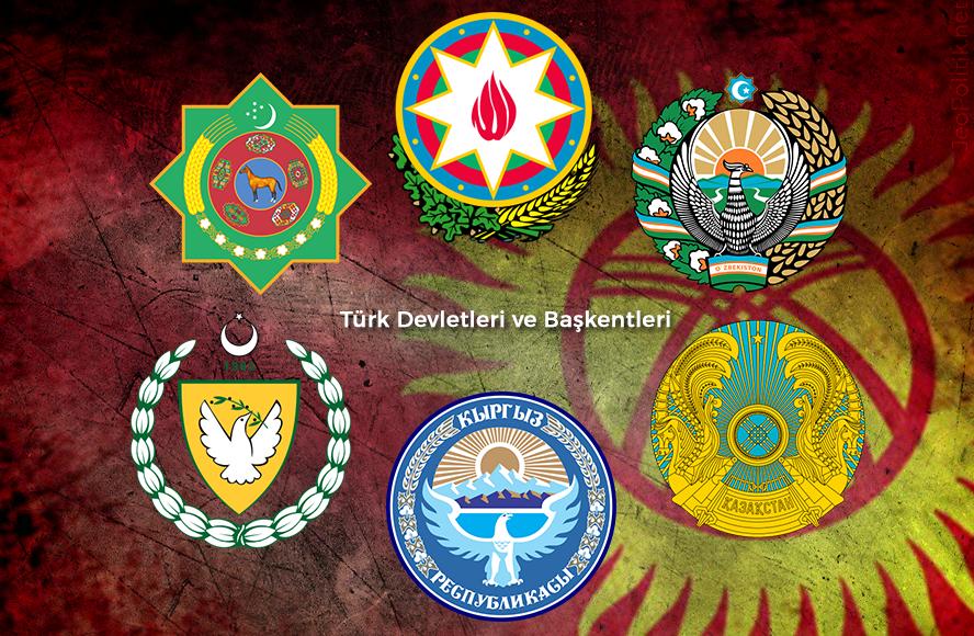 Bagimsiz Turk Devletleri ve Baskentleri