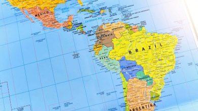 Latin Amerika Siyasi Haritasi