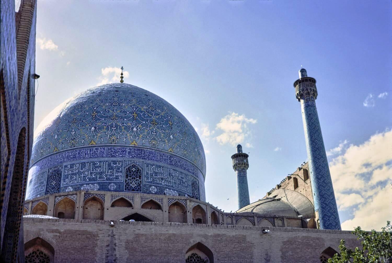 Masjid i Imam Mescid i Sah Kubbe Isfahan Iran