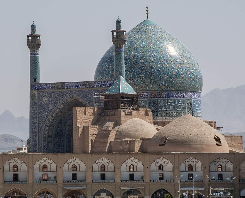 Mescid i Sah Dis Gorunumu Isfahan Iran