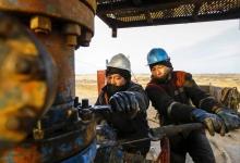 Petrol Sahasi Kuyu Kulesi Iscileri Kazakistan