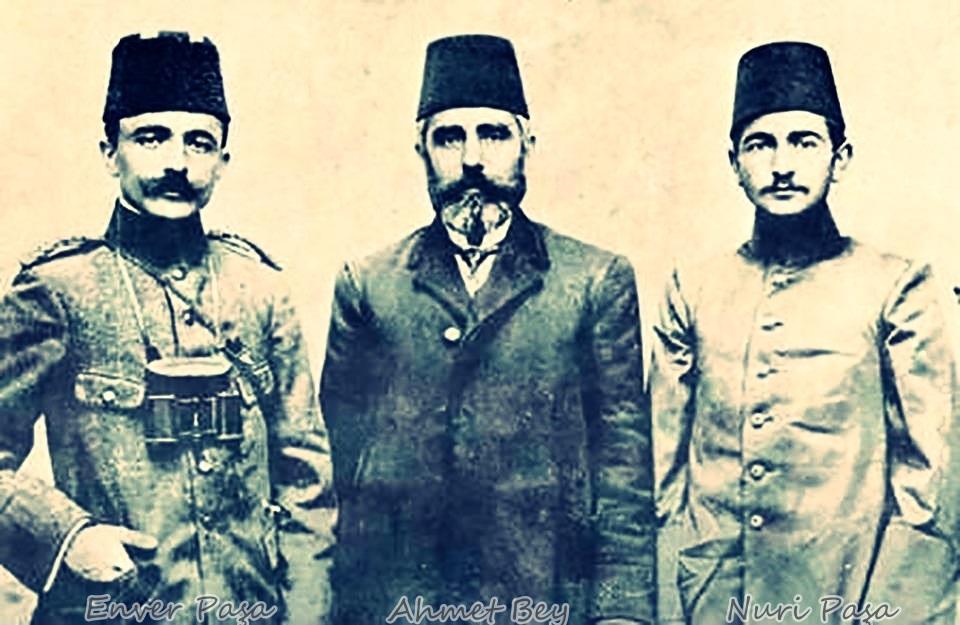 Enver Pasa babalari Ahmet bey Nuri Pasa
